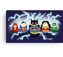 Justice League Tiggles Canvas Print