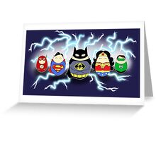 Super Tiggles Greeting Card