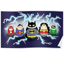 Justice League Tiggles Poster