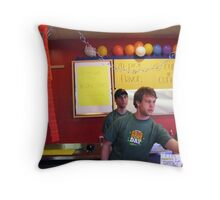 ben and jerry's,sevierville Throw Pillow