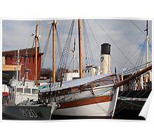 Nautical Stockholm Poster