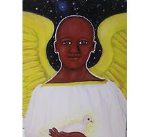 Archangel Gabriel Photographic Print