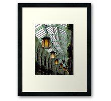 Norwich lights Framed Print