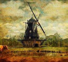 Fuglevad Windmill 1832 by © Kira Bodensted