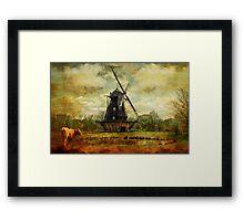 Fuglevad Windmill 1832 Framed Print