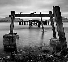 Through The Pier by Kevin Skinner