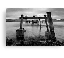 Through The Pier Canvas Print