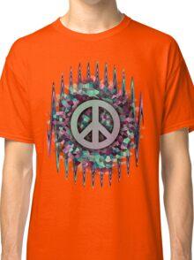 Hippie,Pease,Love,Music  Classic T-Shirt