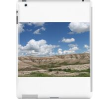 Scenery from the Badlands iPad Case/Skin