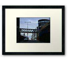 Cityscape, Leith Street from Calton Hill Framed Print