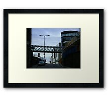 Cityscape, Leith Street from Calton Hill Framed Print