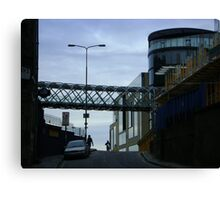 Cityscape, Leith Street from Calton Hill Canvas Print