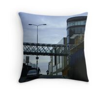 Cityscape, Leith Street from Calton Hill Throw Pillow