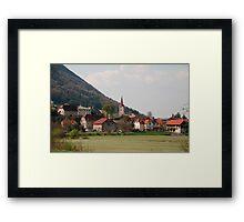 Planina Framed Print