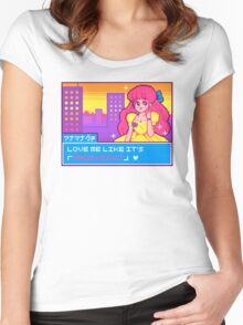 Prom Night Anime Princess Women's Fitted Scoop T-Shirt