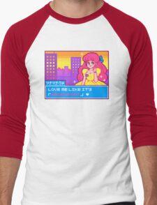 Prom Night Anime Princess Men's Baseball ¾ T-Shirt