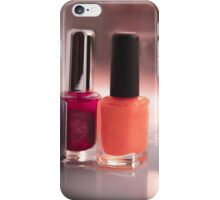 Nail lacquer iPhone Case/Skin