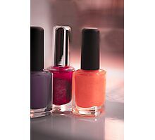 Nail lacquer Photographic Print