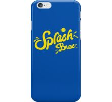 Splash Bros iPhone Case/Skin