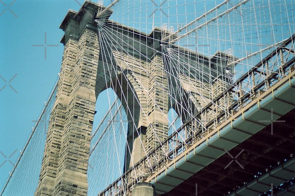 Brooklyn Bridge, New York by Kymbo