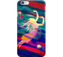 Ocean Woman Jellyfish iPhone Case/Skin