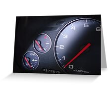 2005 NSX Cluster  Greeting Card
