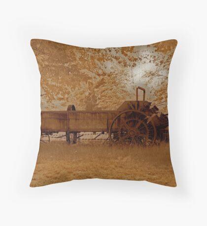 Rural Rust Throw Pillow