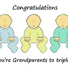 Congratulations, you're Grandparents to triplets. by KateTaylor