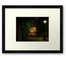 Montmartre Steps Framed Print