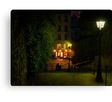 Montmartre Steps Canvas Print
