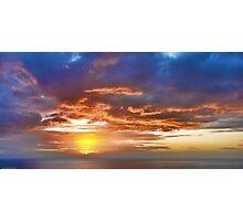 a spectacular sunrise Photographic Print