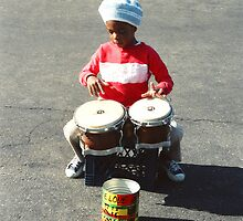 Drummer Boy in New York by Kymbo