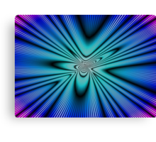 Time Tunnel Space Warp Canvas Print