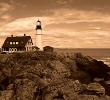 Portland Head Light ~ Part Four by artisandelimage