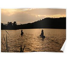 Finished for the Day - Lake Bunyoni, Uganda Poster