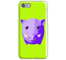 Wild pig iPhone Case/Skin