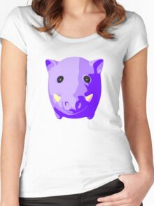 Wild pig Women's Fitted Scoop T-Shirt