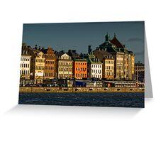 "Stockholm ""Skyline"" Greeting Card"