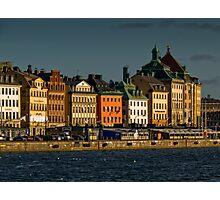 "Stockholm ""Skyline"" Photographic Print"