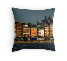 "Stockholm ""Skyline"" Throw Pillow"