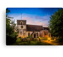 St Mary Kintbury Canvas Print