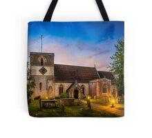 St Mary Kintbury Tote Bag
