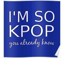 I'M SO KPOP - BLUE Poster