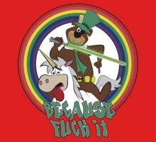 Yogi the Bear - Because F*ck it. One Piece - Long Sleeve