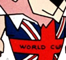 willie world cup Sticker