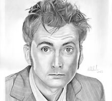 Doctor Who - David Tennant by micheleamadesi