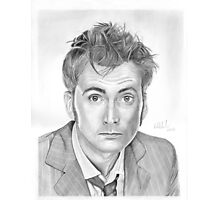 Doctor Who - David Tennant Photographic Print