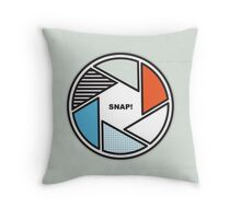 Oh, Snap! - No. 20 Throw Pillow