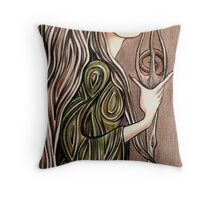 From Out The Forest Throw Pillow