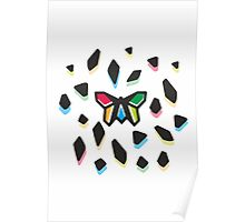 Rainbow Anigami Mr. Butterfly Poster